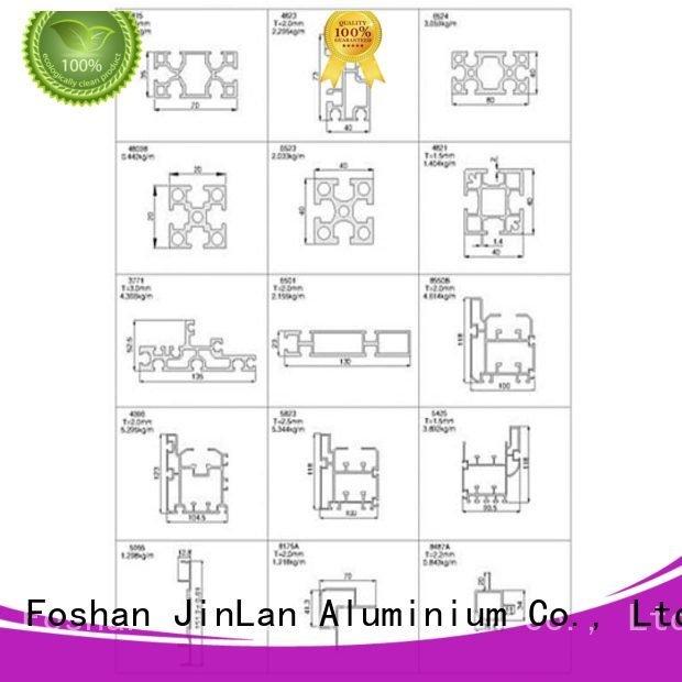 JinLan Brand systems pipe aluminum rectangular tubing