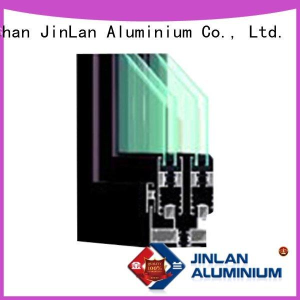 aluminium section profile aluminium extrusion sections frame JinLan
