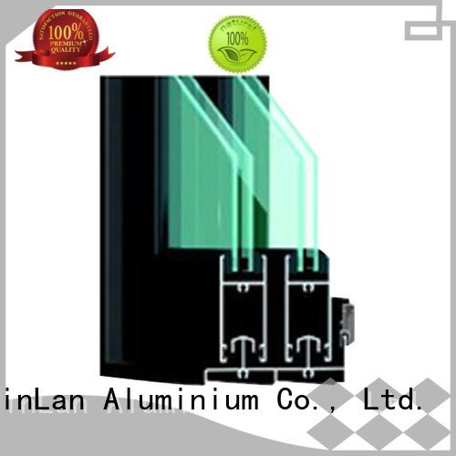 JinLan Brand sand sill aluminium extrusion sections section customized