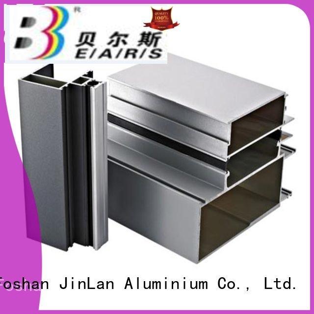 aluminum rectangular tubing stand aluminium aluminium extrusion manufacturers in china JinLan Warranty