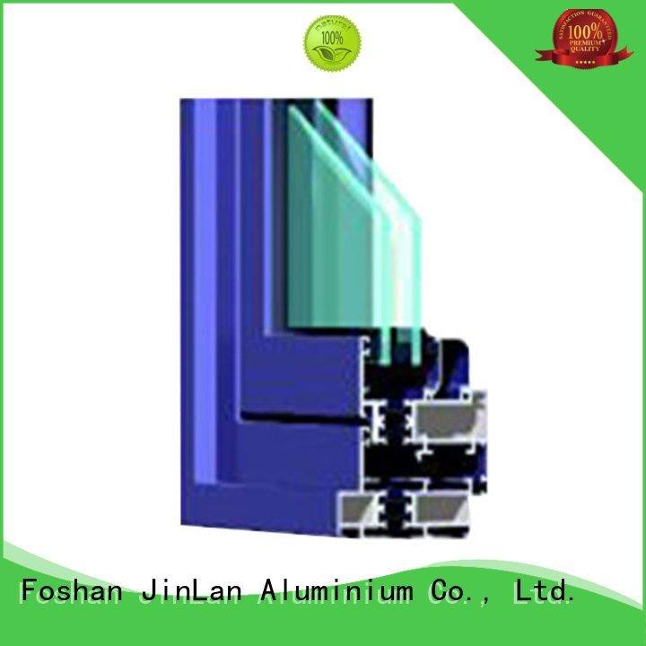 grain door aluminium extrusion sections profile JinLan