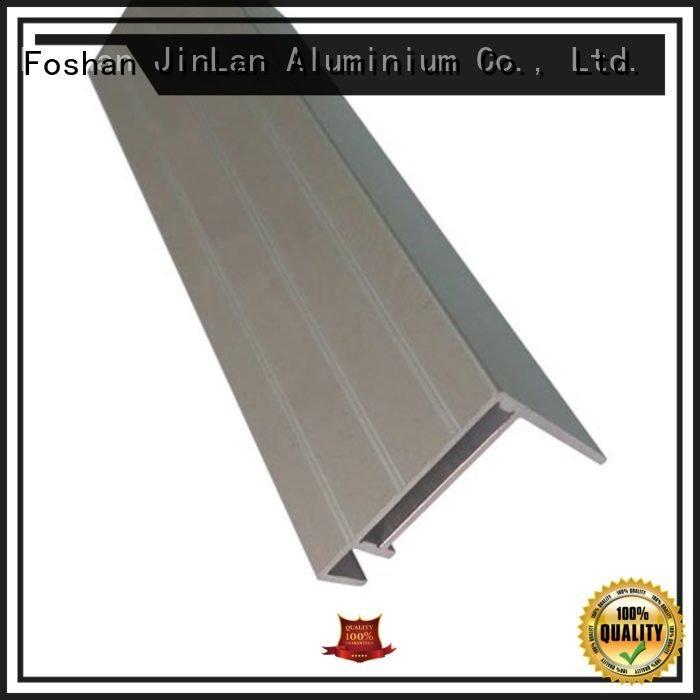 profile aluminum rectangular tubing aluminium JinLan
