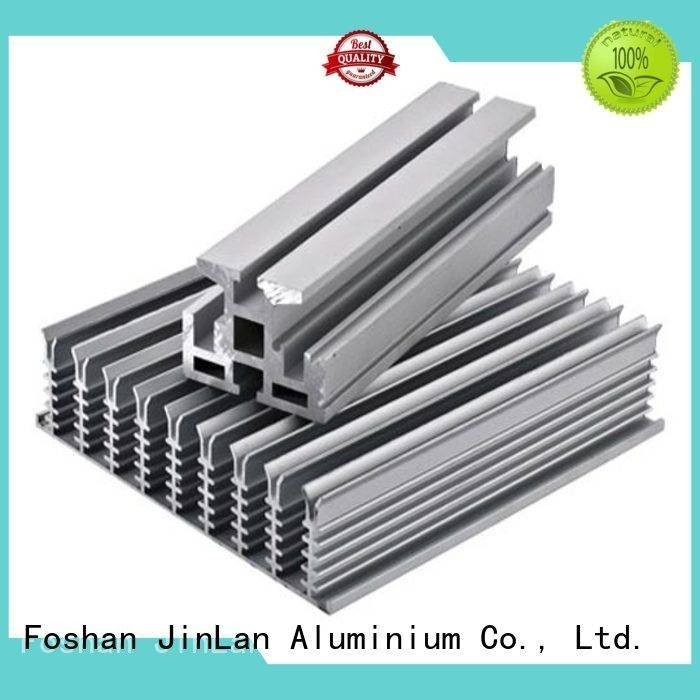 JinLan extrusion systems aluminium extrusion manufacturers in china solar stand