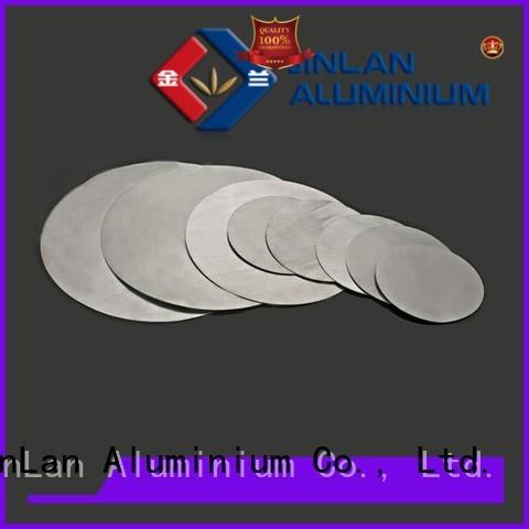 JinLan Brand aluminium circles aluminium sliding doors manufacture