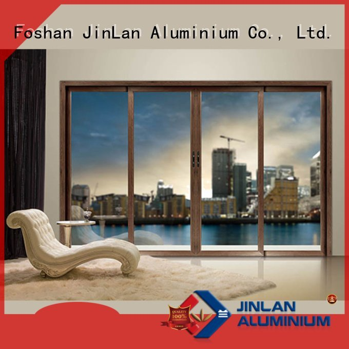 JinLan aluminium window frames frame window sliding aluminium