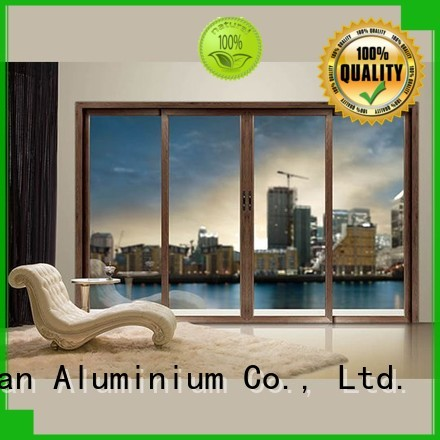 high quality sliding aluminium sliding doors frame JinLan Brand
