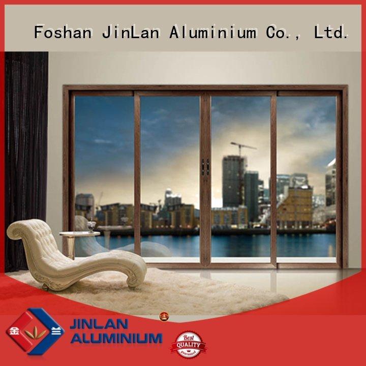 Quality aluminium window frames JinLan Brand frame aluminium windows