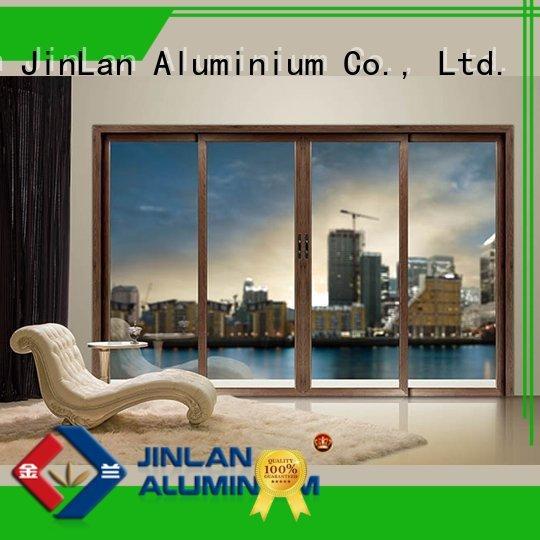 Quality JinLan Brand high quality aluminium sliding doors