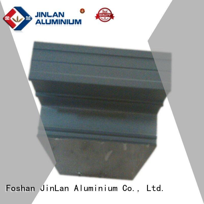 solar Hot aluminum rectangular tubing systems aluminium extrusion manufacturers in china extrusion JinLan stand extrusion alu