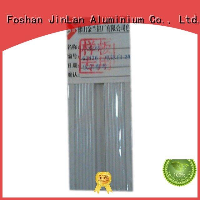 Hot aluminum rectangular tubing profile extrusion pipe JinLan Brand