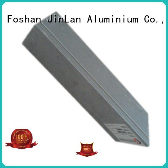 aluminum rectangular tubing pipe extrusion OEM aluminium extrusion manufacturers in china JinLan