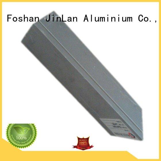 Custom aluminium extrusion manufacturers in china extrusion aluminium stand JinLan