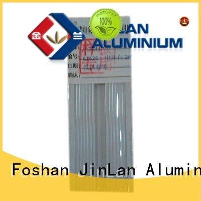 aluminum rectangular tubing aluminium extrusion OEM aluminium extrusion manufacturers in china JinLan