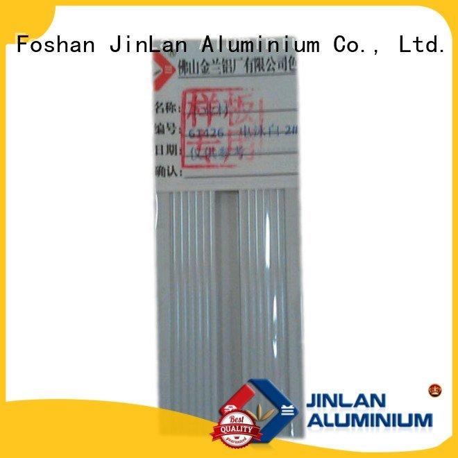 JinLan Brand systems aluminum rectangular tubing profile extrusion