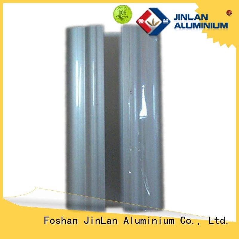pipe profile JinLan aluminum rectangular tubing