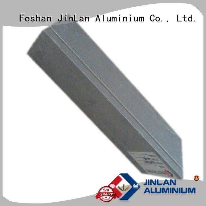aluminum rectangular tubing systems aluminium extrusion manufacturers in china JinLan