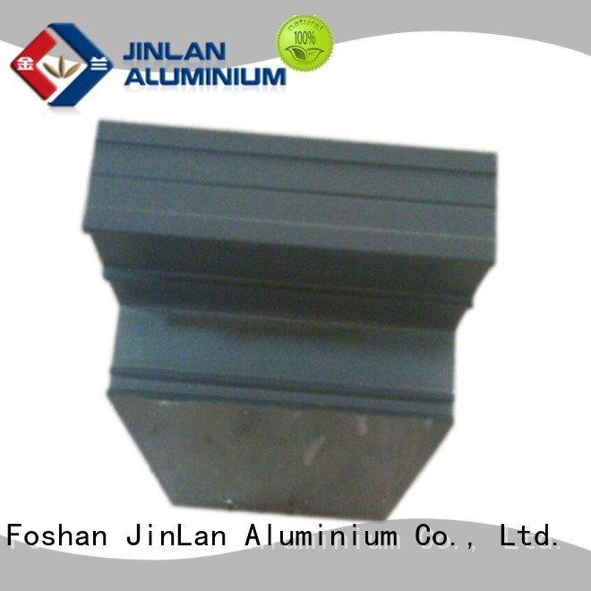 aluminum rectangular tubing extrusion stand pipe profile JinLan