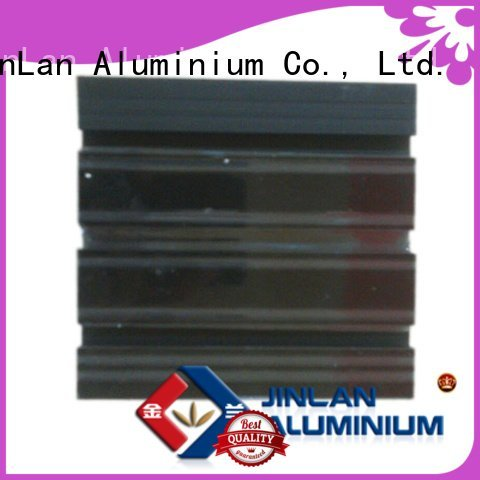 JinLan profile aluminium extrusion manufacturers in china pipe aluminium