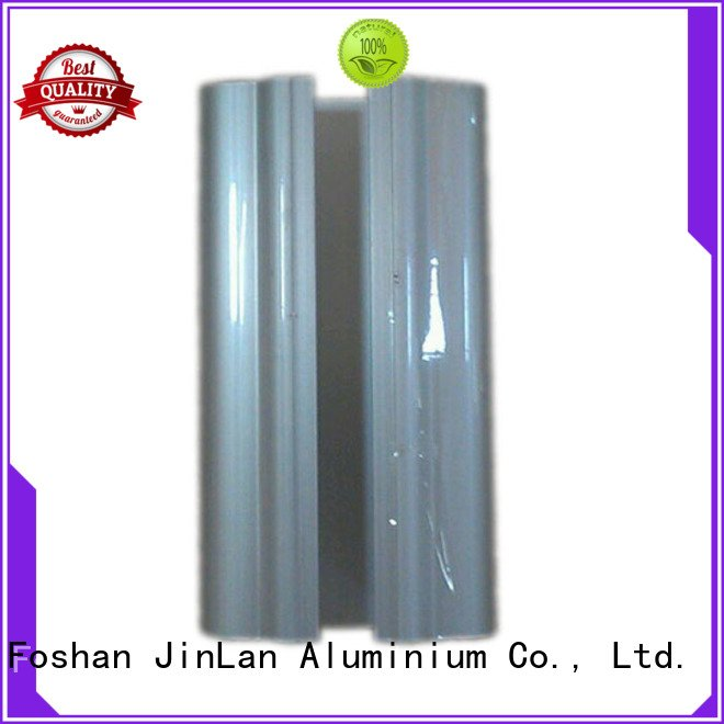 Custom aluminium extrusion manufacturers in china profile pipe systems JinLan