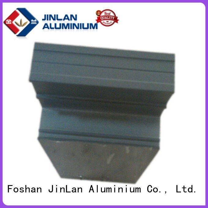 profile stand JinLan aluminium extrusion manufacturers in china