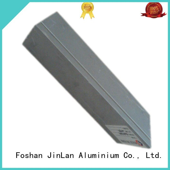 aluminum rectangular tubing systems aluminium extrusion manufacturers in china aluminium JinLan