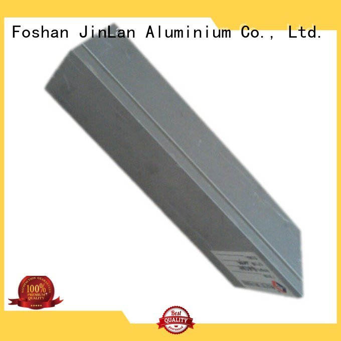 aluminum rectangular tubing stand aluminium extrusion manufacturers in china JinLan Brand