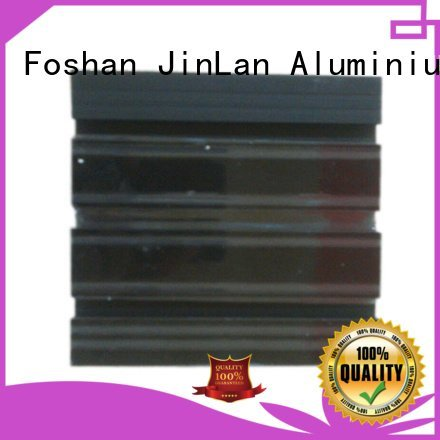 profile aluminium extrusion manufacturers in china JinLan aluminum rectangular tubing