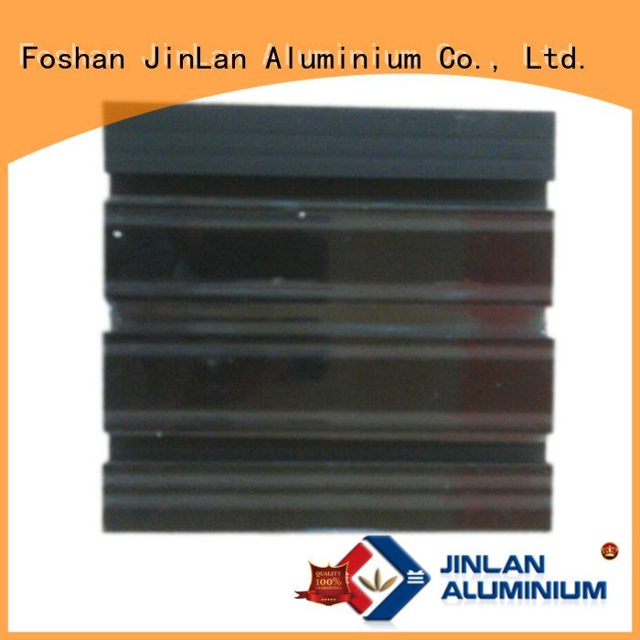 JinLan stand aluminium extrusion manufacturers in china extrusion aluminium