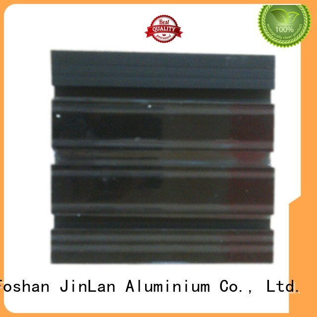 aluminium profile stand pipe JinLan aluminum rectangular tubing