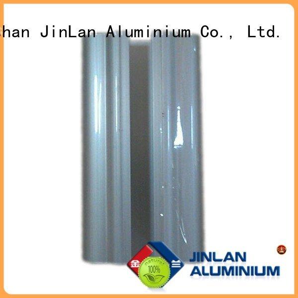 aluminum rectangular tubing profile solar aluminium JinLan