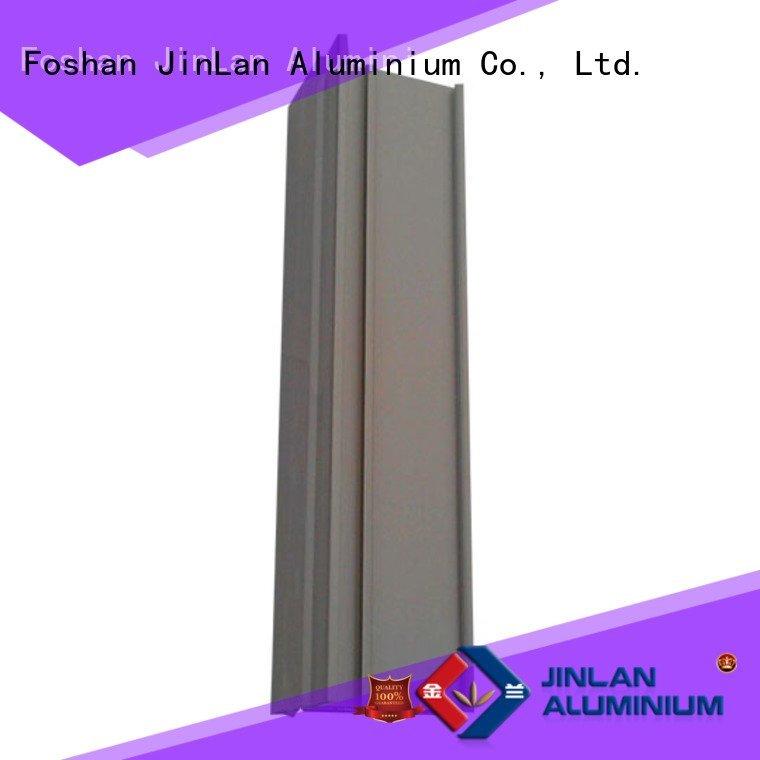 Quality aluminum rectangular tubing JinLan Brand aluminium aluminium extrusion manufacturers in china
