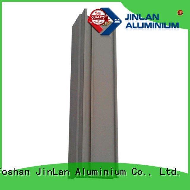 aluminum rectangular tubing aluminium aluminium extrusion manufacturers in china JinLan Brand