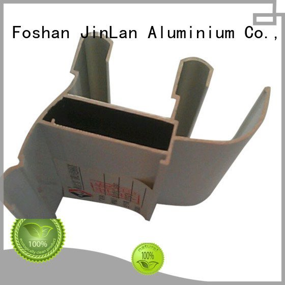 JinLan aluminium extrusion manufacturers in china aluminium profile pipe extrusion