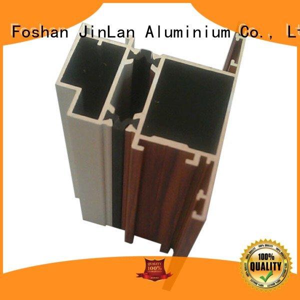 solar extrusion aluminium aluminum rectangular tubing stand JinLan Brand aluminium extrusion manufacturers in china