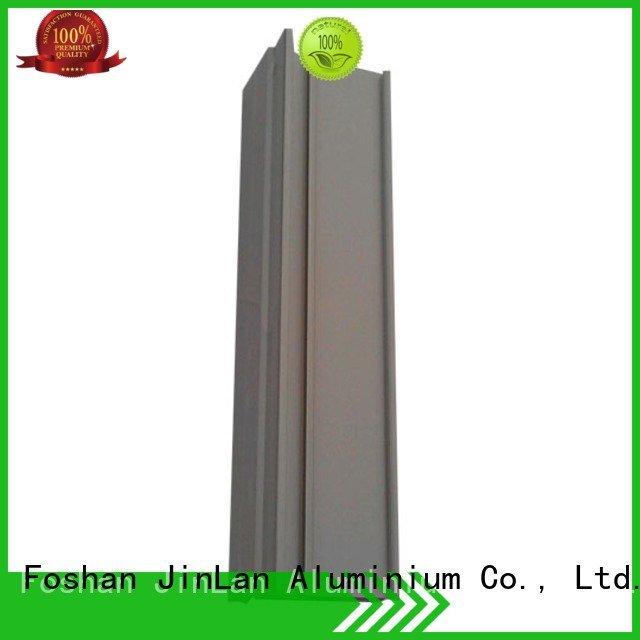 Hot aluminum rectangular tubing aluminium aluminium extrusion manufacturers in china extrusion JinLan