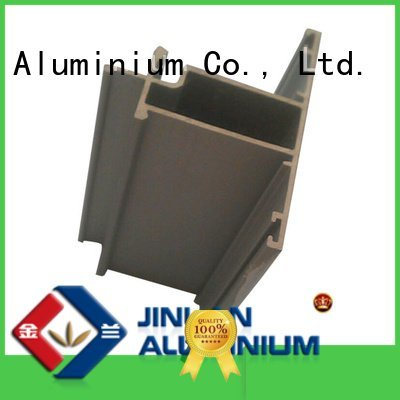 JinLan aluminium extrusion manufacturers in china profile extrusion pipe stand