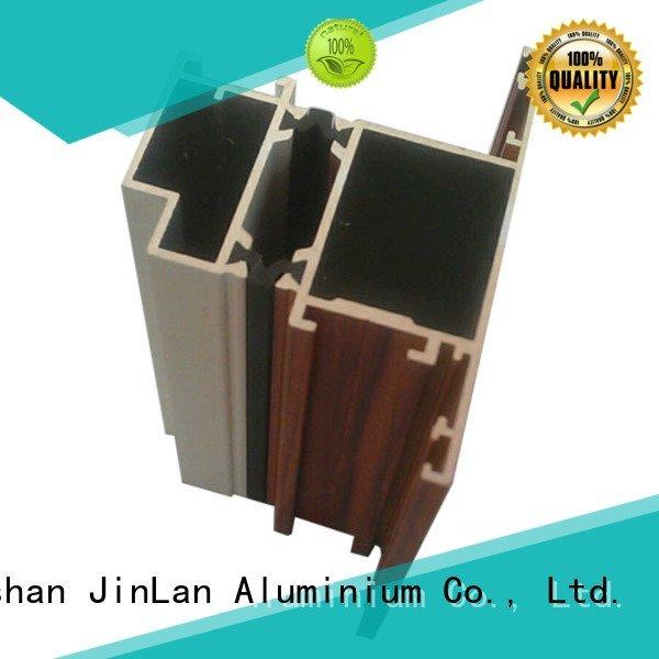JinLan Brand profile solar aluminum rectangular tubing