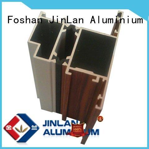 extrusion aluminum rectangular tubing stand JinLan Brand aluminium extrusion manufacturers in china solar aluminium stand