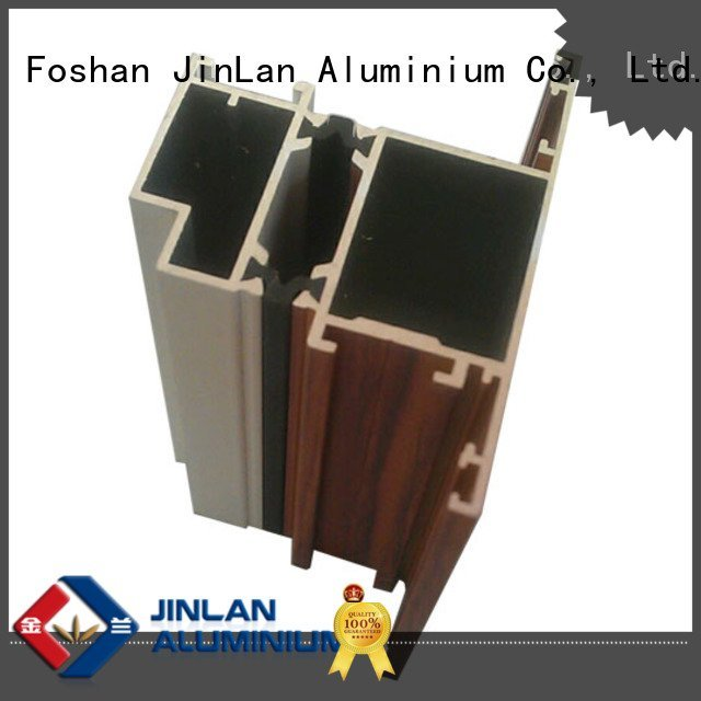 stand profile systems JinLan aluminium extrusion manufacturers in china