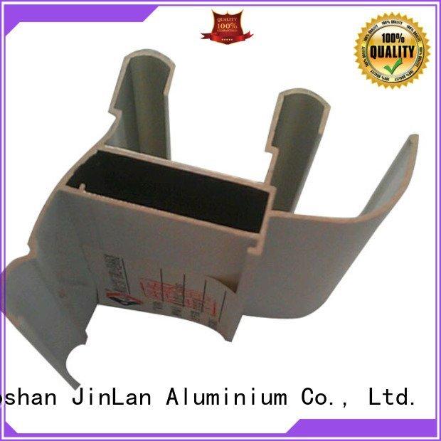 profile pipe solar aluminum rectangular tubing JinLan