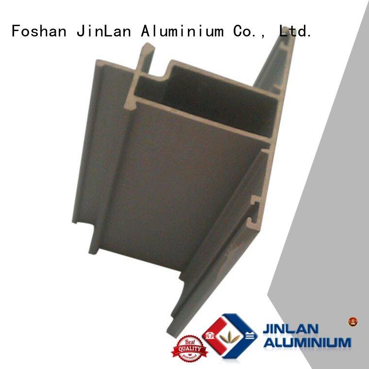 systems extrusion JinLan aluminum rectangular tubing