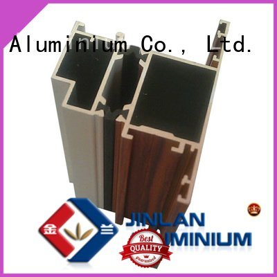 aluminum rectangular tubing solar pipe aluminium extrusion manufacturers in china JinLan Warranty