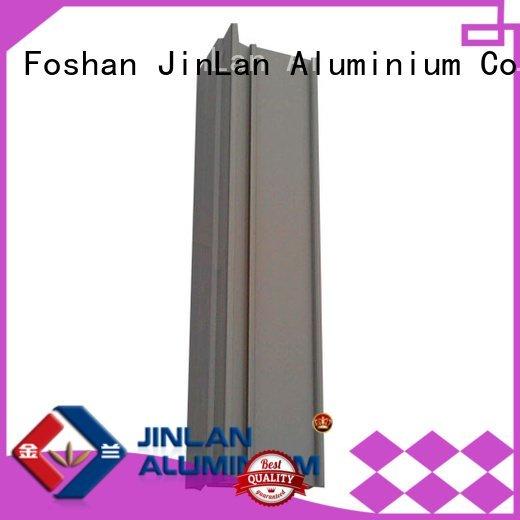 JinLan Brand systems profile extrusion aluminum rectangular tubing