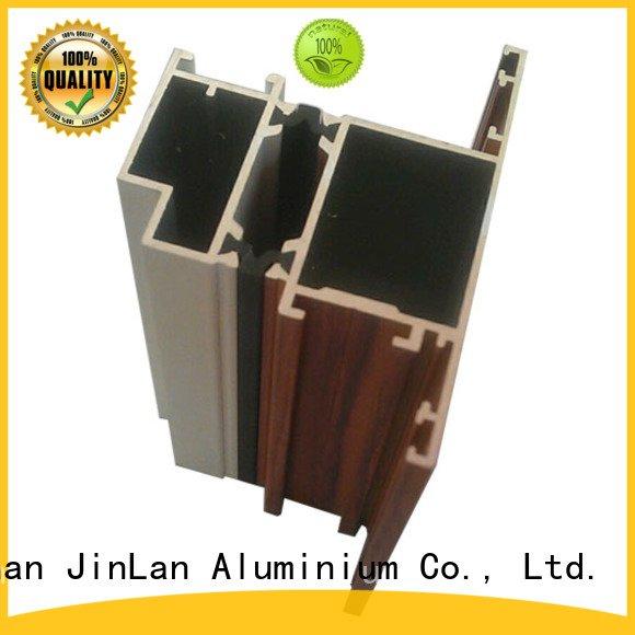 stand extrusion aluminum rectangular tubing JinLan