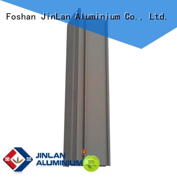 Hot aluminum rectangular tubing solar extrusion pipe JinLan Brand