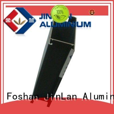 aluminum rectangular tubing extrusion aluminium JinLan Brand