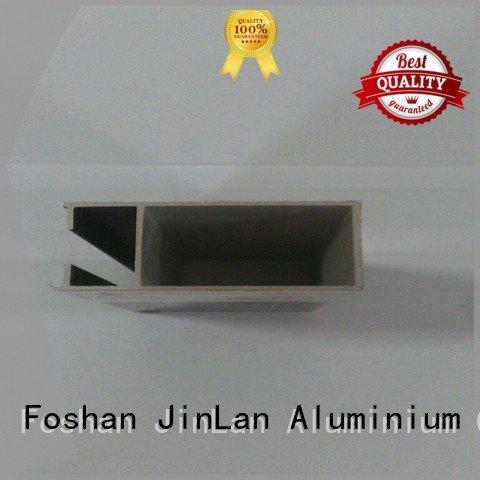Hot aluminum rectangular tubing pipe extrusion stand JinLan Brand