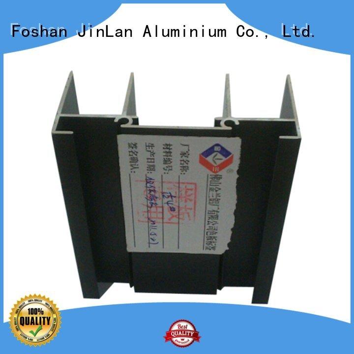 pipe profile JinLan aluminium extrusion manufacturers in china