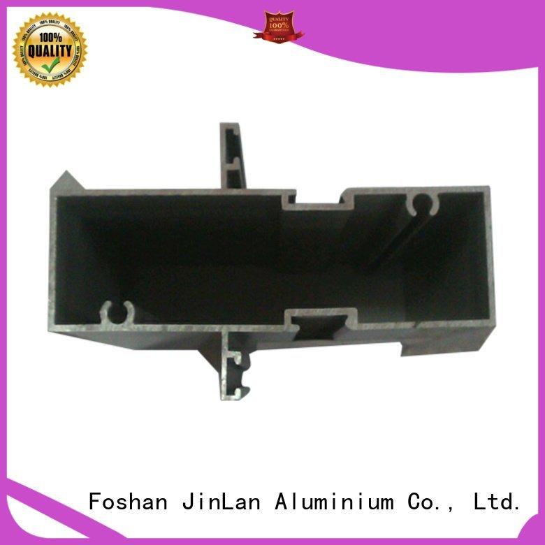 Hot aluminum rectangular tubing solar pipe profile JinLan Brand