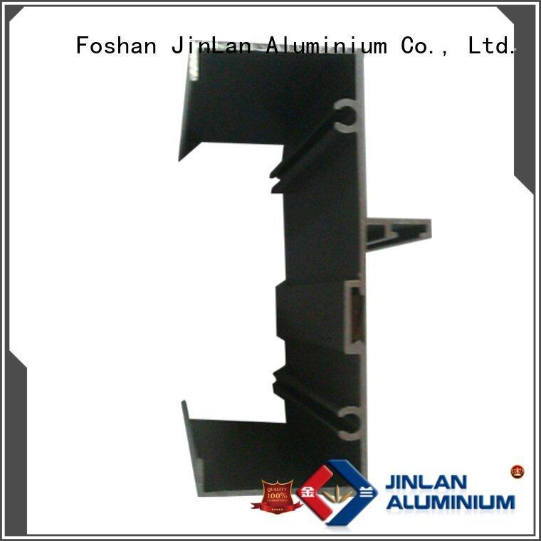 extrusion aluminium extrusion manufacturers in china JinLan aluminum rectangular tubing
